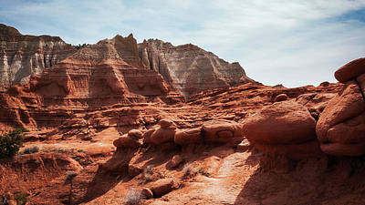 Photograph - Unusual Rock Formations At Kodachrome Park, Utah by Daniela Constantinescu