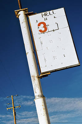 Photograph - Unusual Sign Post by Marius Sipa