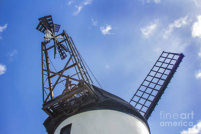 Photograph - Unusual View Of Windmill by Doc Braham