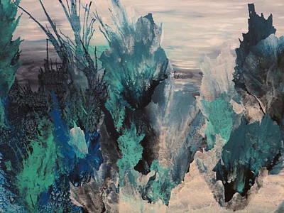 Soraya Painting - Unveiled by Soraya Silvestri