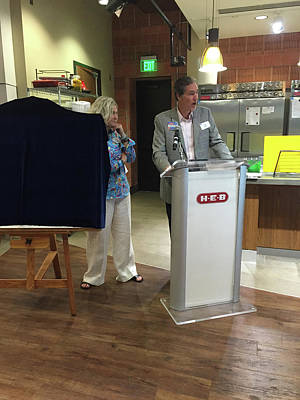 Painting - 2015 Unveiling At United Way by Patti Schermerhorn
