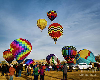 Photograph - Up And Away by Jon Burch Photography