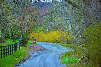 Photograph - Up Around The Bend by Tracy Rice Frame Of Mind
