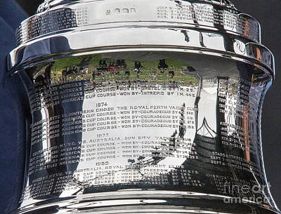 Sausalito Photograph - Up Close America's Cup by Chuck Kuhn