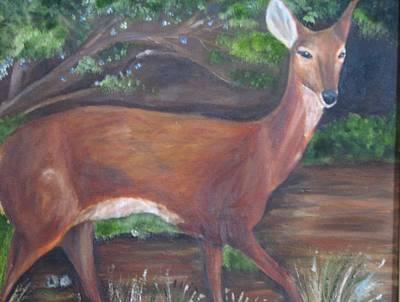 Up Close And Personal - Deer Original