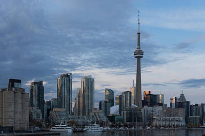 Photograph - Up Close And Personal - Toronto Skyline From The Island Airport by Georgia Mizuleva