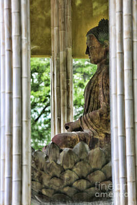 Avery Island Photograph - Up Close Buddha Shonfa Temple  by Chuck Kuhn