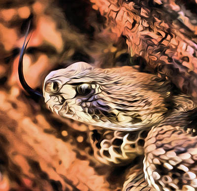 Photograph - Up Close With An Atrox by JC Findley