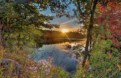 Photograph - Up Early For The Start Of Fall Color... by Ian Sempowski