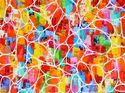 Painting - Up by Elizabeth Langreiter