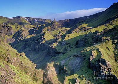 Photograph - up Eyjafjallajokull Iceland by Rudi Prott