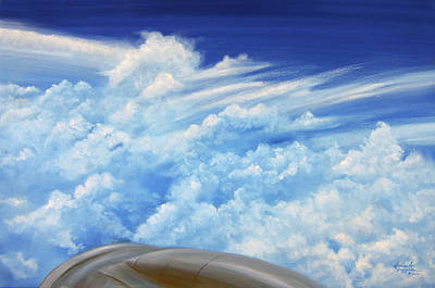 Painting - Up In The Air by Leonardo Ruggieri
