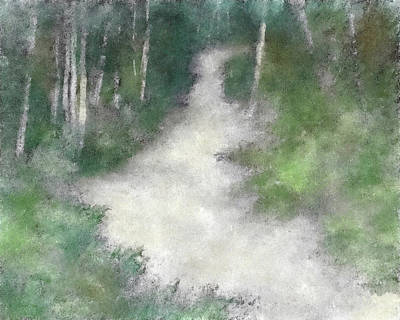 Up Into The Woods Dwp Art Print