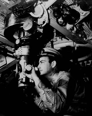 Photograph - Up Periscope 1942 by U S N A