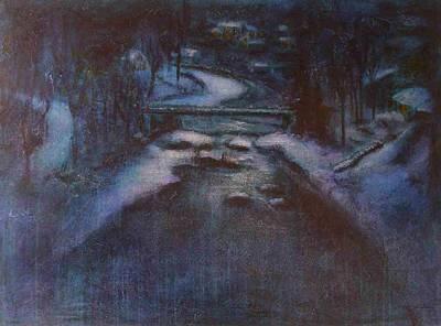 Up River Art Print