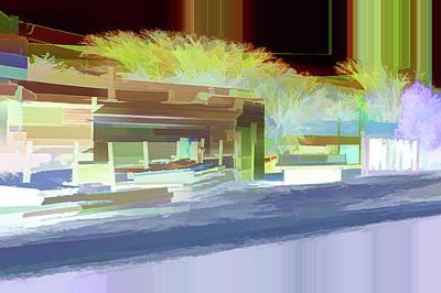 Digital Art - Up Street by Aliceann Carlton
