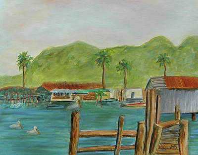 Painting - Up The Creek by Patty Weeks