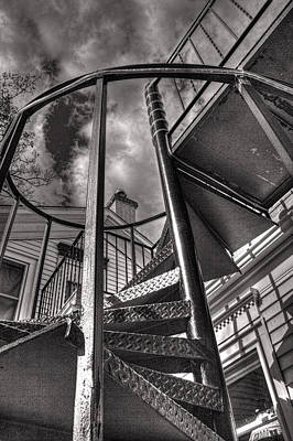 Photograph - Up The Down Staircase by Roger Passman