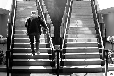 Photograph - Up The Down Stairway by John Meader