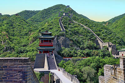 Photograph - Up The Great Wall by Rick Lawler