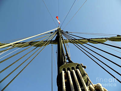 Photograph - Up The Mast by D Hackett