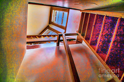 Photograph - Up The Stairs by Rick Bragan