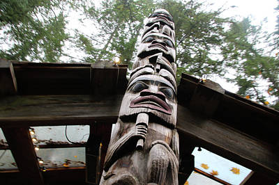 Photograph - Up The Totem by Perggals - Stacey Turner