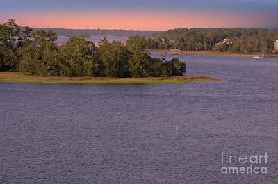 Photograph - Up The Wando River by Dale Powell