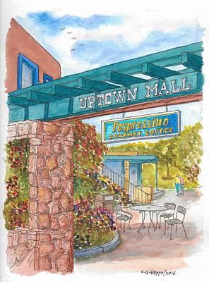 Sedona Up Town Mall In Sedona, California Original by Carlos G Groppa
