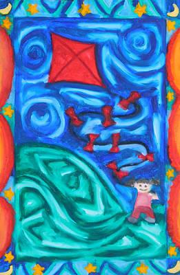 Up, Up And Away Original by Elizabeth Dawson