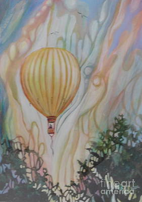 Up, Up And Away Original by Joan Clear