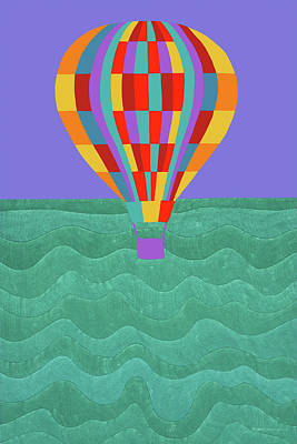 Painting - Up Up And Away by Synthia SAINT JAMES