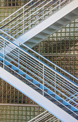 Flight Of Stairs Photograph - Up You Go by CJ Middendorf