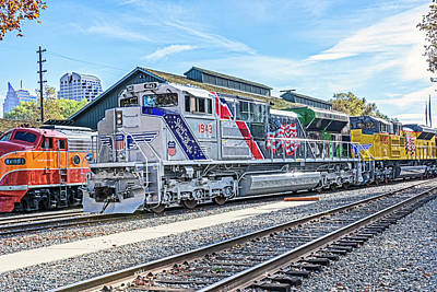 Photograph - Up1943 Spirit Of The Union Pacific 08 by Jim Thompson