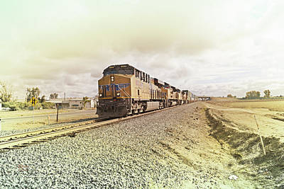 Union Pacific Photograph - Up8052 by Jim Thompson