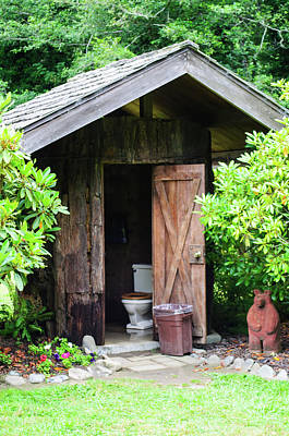 Photograph - Updated Outhouse by Tikvah's Hope
