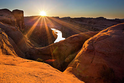 Photograph - Updraft Arch by Whit Richardson