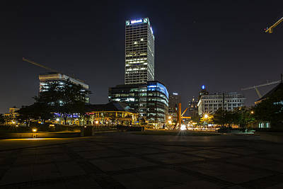Citys Photograph - Upgrading Mke by CJ Schmit