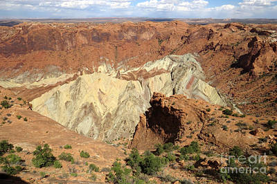 Photograph - Upheaval Dome by Frank Townsley