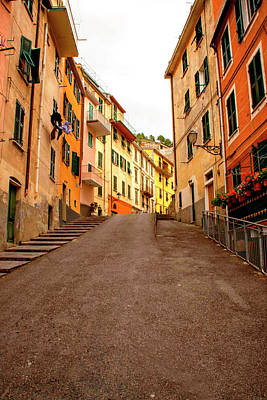 Photograph - Uphill Italian Style by Angela King-Jones