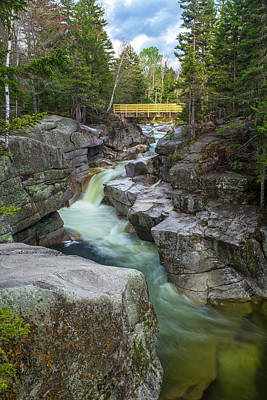 Photograph - Upper Ammonoosuc Falls Springtime by Chris Whiton