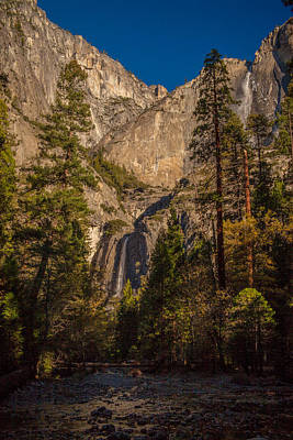 El Capitan Photograph - Upper And Lower Yosemite by J Allen