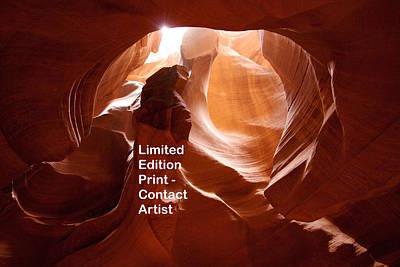 Photograph - Upper Antelope Canyon 7 by David Beebe