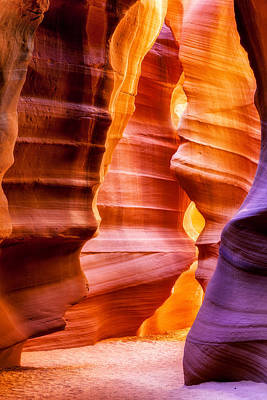 Photograph - Upper Antelope Slot Canyon by Susan Schmitz