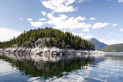 Photograph - Upper Arrow Lake by Wilko Van de Kamp