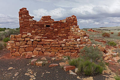 Photograph - Upper Box Canyon Ruin by Tom Daniel