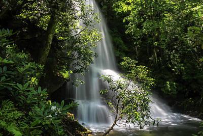 Photograph - Upper Catawba Falls by Chris Berrier