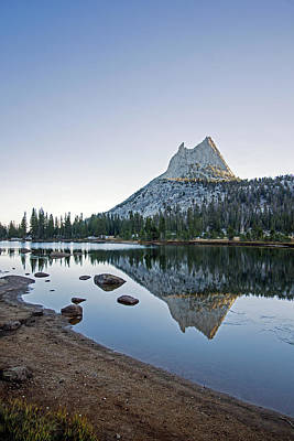 Photograph - Upper Cathedral Lake by Angie Schutt