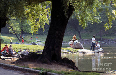 Photograph - Upper Central Park C1968 by Erik Falkensteen