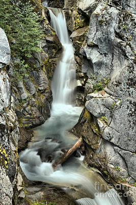 Photograph - Upper Christine Falls by Adam Jewell